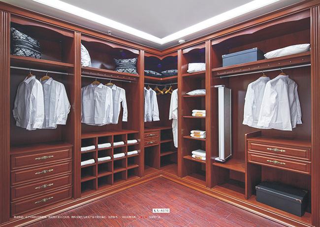实木家具衣柜展示