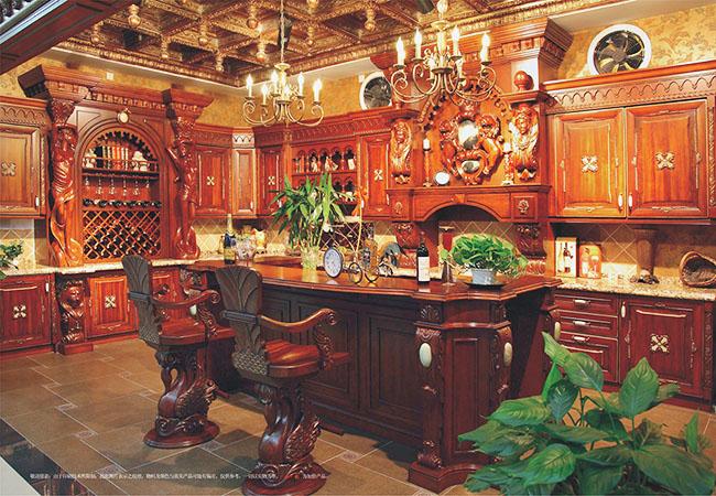 整体实木家具橱柜设计定制